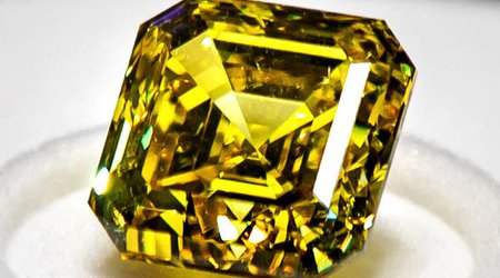 20.69-Carat 'Firebird' Is Latest Fancy Yellow Diamond to Pass Through House of Graff