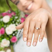 Average Bridal Couple Spent $6,163 on Engagement Ring in 2016, Reports The Knot