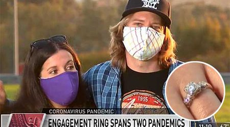 San Diego Musician Pops the Question With Ring That's Seen Two Global Pandemics