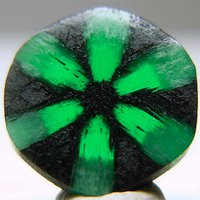 Birthstone Feature: 'Trapiche' Emerald Remains a Gemological Curiosity